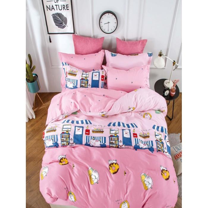 Купить Постельное белье 1.5-спальное, Постельное белье Dream Time BLK-46-SP-467-1C (3 предмета)