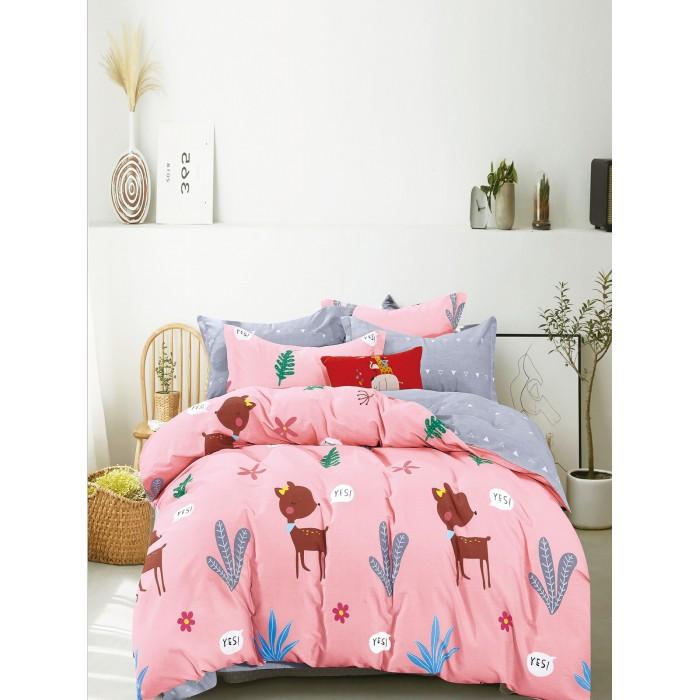 Купить Постельное белье 1.5-спальное, Постельное белье Dream Time BLK-46-SP-468-1C (3 предмета)