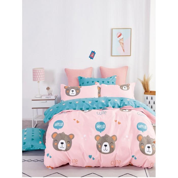 Купить Постельное белье 1.5-спальное, Постельное белье Dream Time BLK-46-SP-470-1C (3 предмета)
