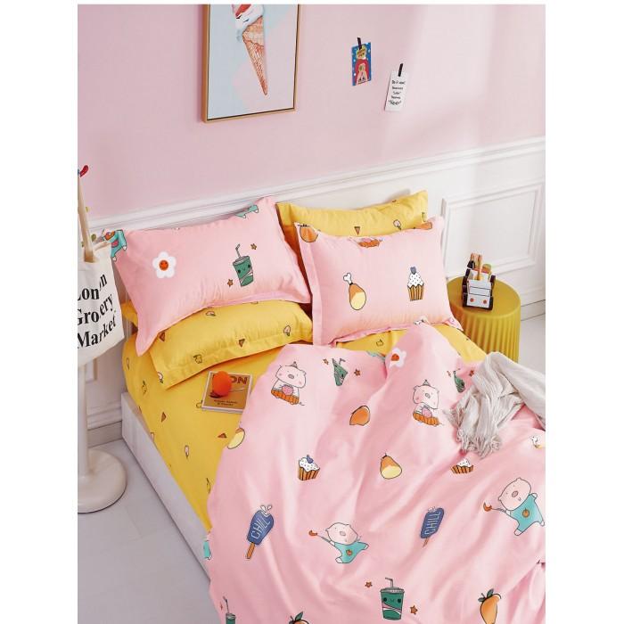 Купить Постельное белье 1.5-спальное, Постельное белье Dream Time BLK-46-SP-473-1C (3 предмета)