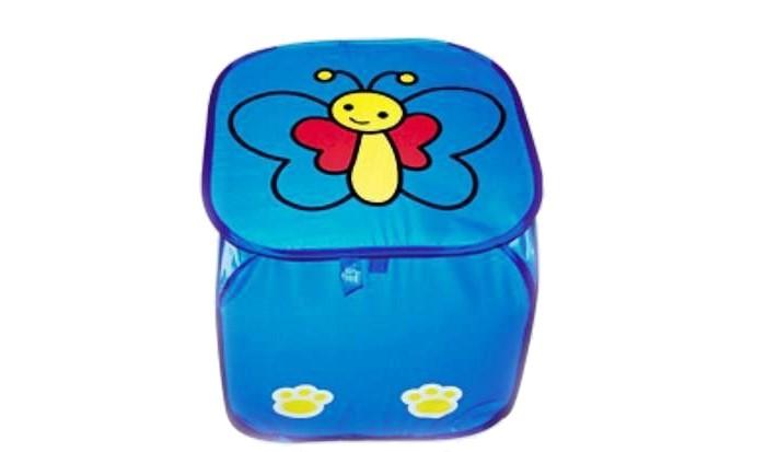 Ящики для игрушек Shantou Gepai Корзина Бабочка 45х45 см ящики для игрушек shantou gepai корзина лягушонок 45х50 см