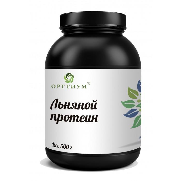 Оргтиум Протеин из семян льна 500 г