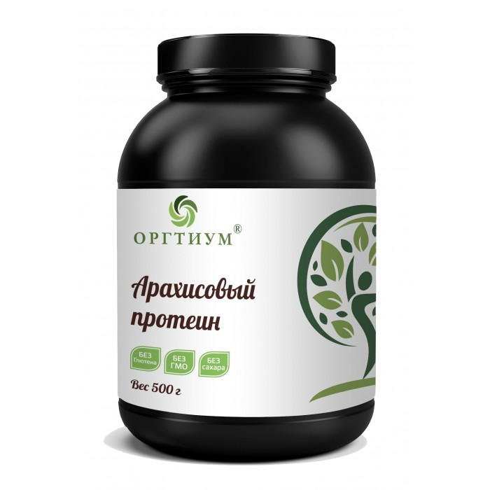 Оргтиум Арахисовый протеин 500 г