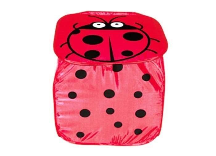 Ящики для игрушек Shantou Gepai Корзина Божья коровка 45х45 см ящики для игрушек shantou gepai корзина зайка 36х48 см