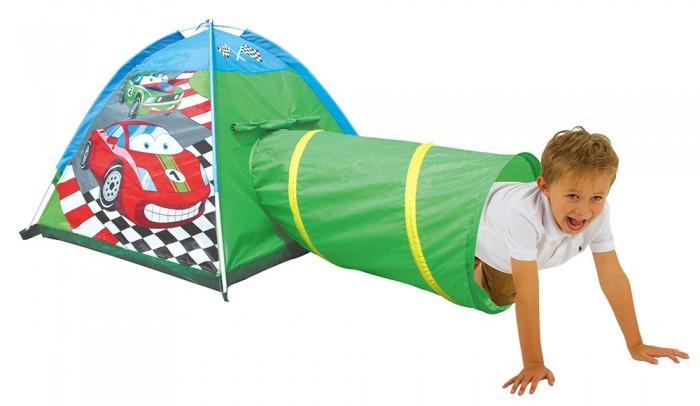 Джамбо Домик-палатка с туннелем Машинки 170х112х94 см от Джамбо