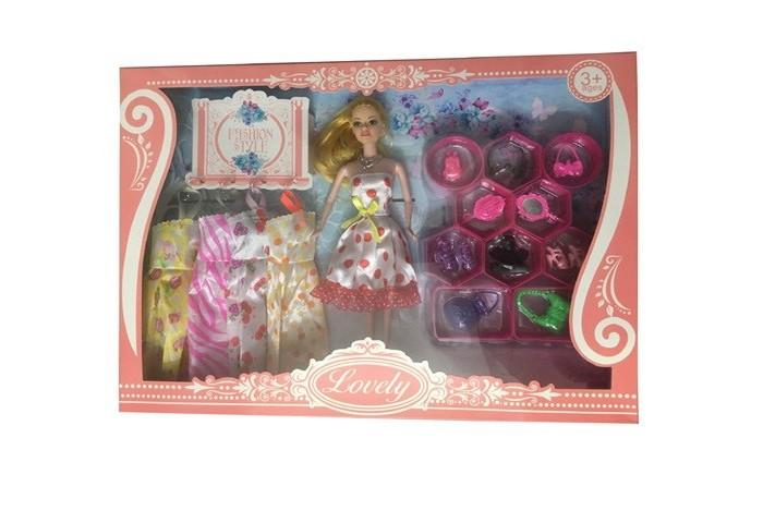 Джамбо Кукла с 4 дополнительными платьями и аксессуарами ...