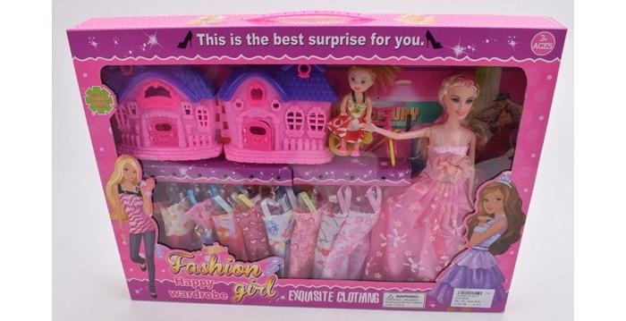 Джамбо Кукла с маленькой куклой, аксессуарами и 9 ...