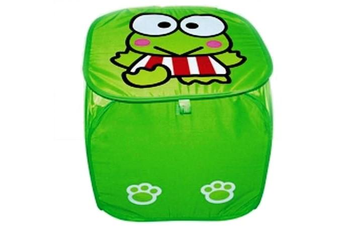 Ящики для игрушек Shantou Gepai Корзина Лягушонок 45х45 см ящики для игрушек shantou gepai корзина лягушонок 45х50 см
