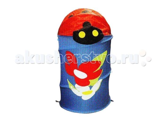 Ящики для игрушек Shantou Gepai Корзина с божьей коровкой 43х56 см ящики для игрушек shantou gepai корзина зайка 36х48 см