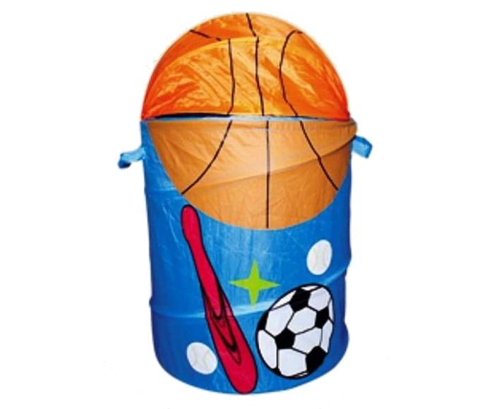 Ящики для игрушек Shantou Gepai Корзина Спорт 45х50 см ящики для игрушек shantou gepai корзина зайка 36х48 см