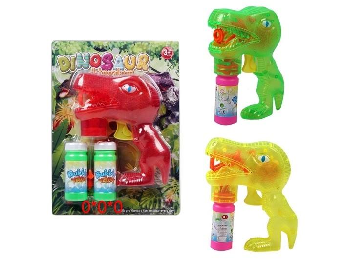 Мыльные пузыри Джамбо Мыльные пузыри пистолет прозрачный Динозавр гегузин я пузыри