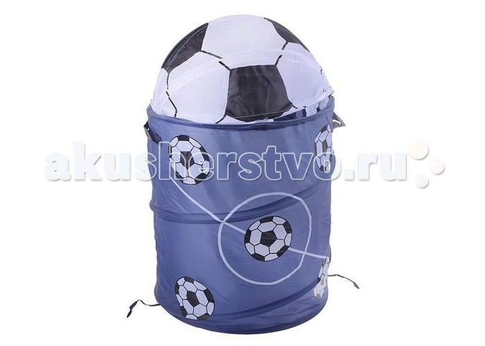 Ящики для игрушек Shantou Gepai Корзина Футбол 45х50 см ящики для игрушек shantou gepai корзина зайка 36х48 см