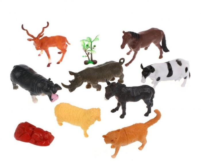 Игровые фигурки Наша Игрушка Набор животных и аксессуары 8 шт. игровые фигурки kawaii squeezies игрушка аксессуары для девочек