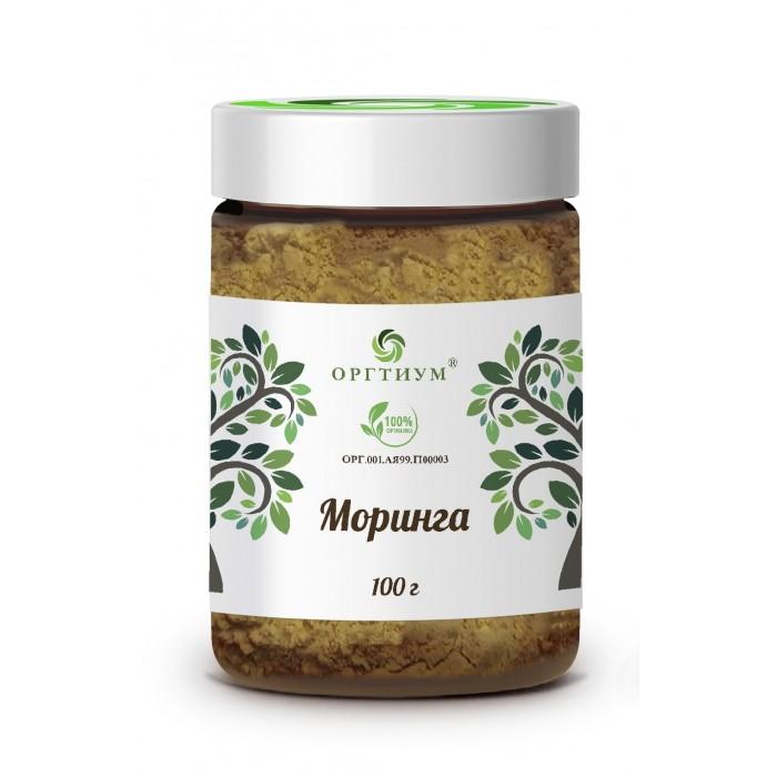 Правильное питание Оргтиум Моринга порошок из листьев 100 г недорого