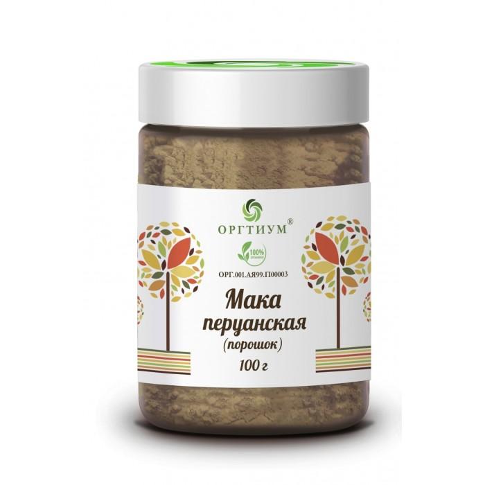 Купить Правильное питание, Оргтиум Мака перуанская желтая 100 г