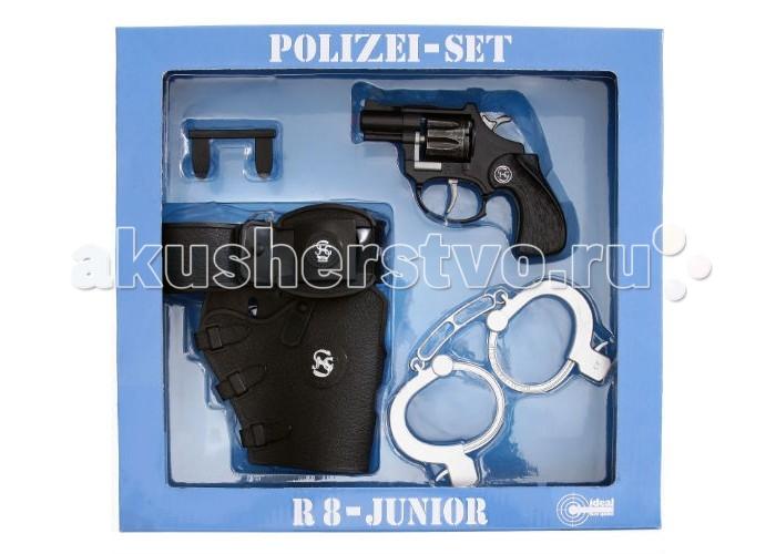Schrodel Набор Полиция с игрушечным пистолетом R8 8-Schuß