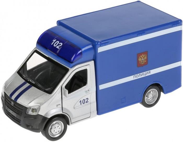 Купить Машины, Технопарк Машина металлическая со светом и звуком Газель Next Полиция 15 см