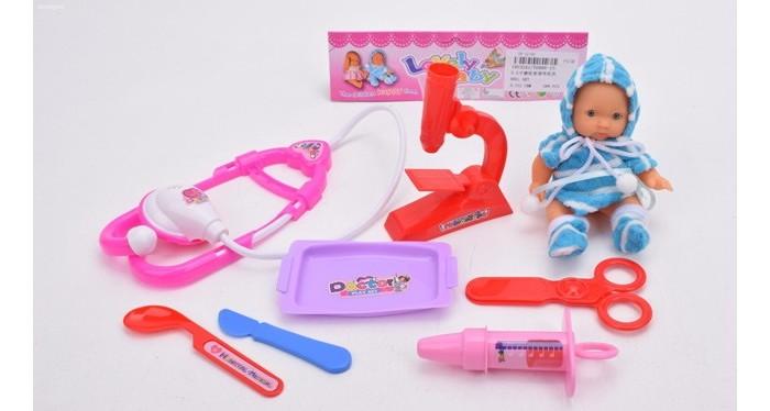 Куклы и одежда для кукол Джамбо Набор Доктор с куклой в комплекте