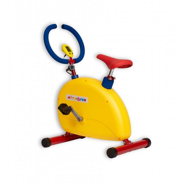 Купить Тренажеры, Moove&Fun Тренажер детский механический Велотренажер большой с компьютером