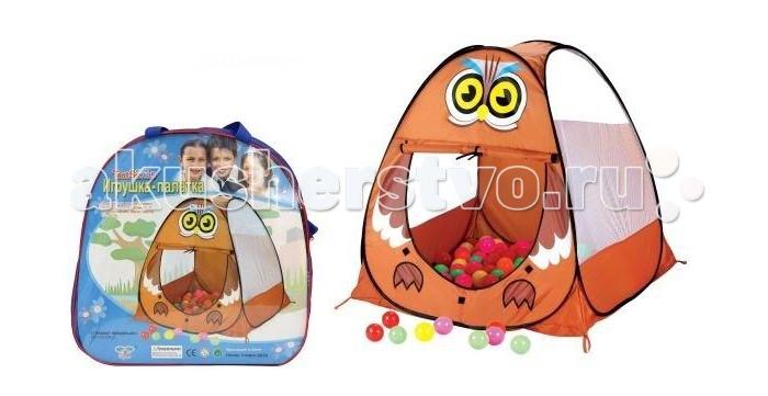 Детская игровая палатка Маша и медведь, в сумке от Играем