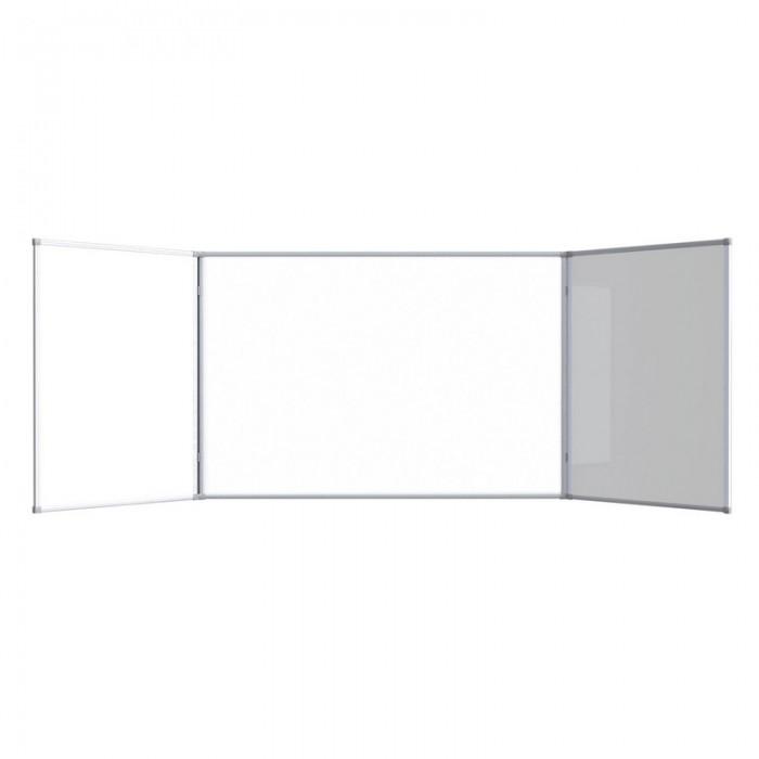 Attache Доска магнитно-маркерная 2-створчатая 100х300 см (лак) фото