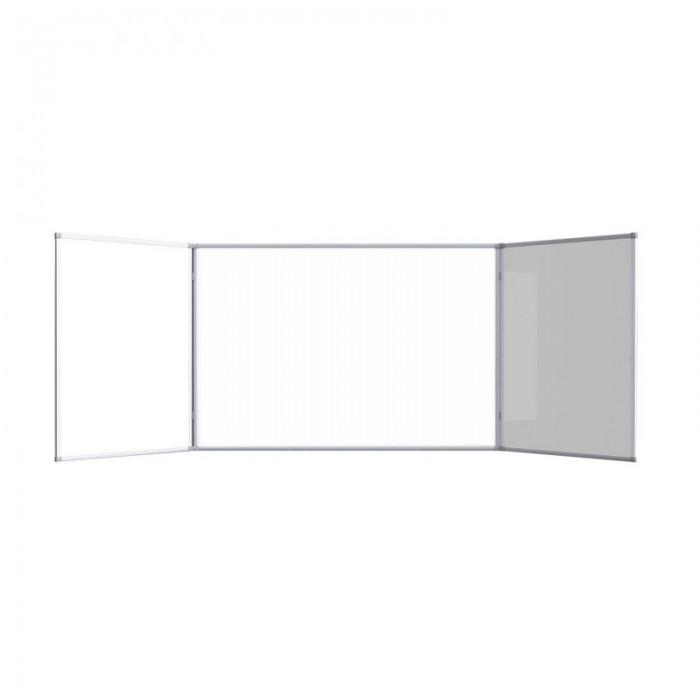 Attache Доска магнитно-маркерная 2-створчатая 100х300 см (эмаль) фото
