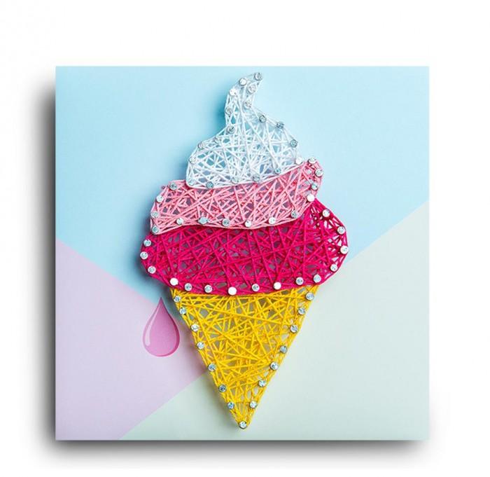 Купить Наборы для творчества, String Art Lab Набор для творчества Стринг арт Мороженка