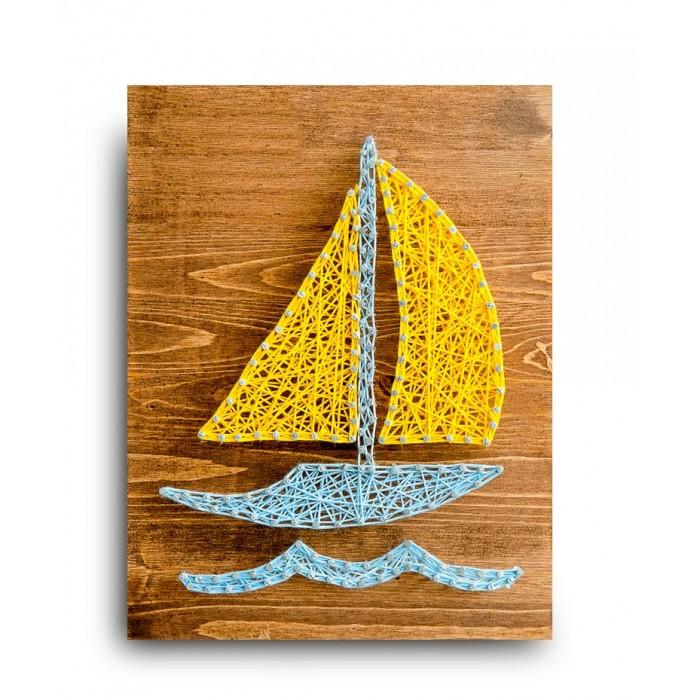 Купить Наборы для творчества, String Art Lab Набор для творчества Стринг арт Кораблик