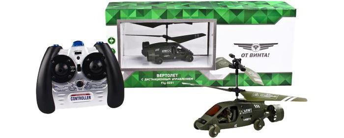 От винта! Вертолет-машина на инфракрасном управлении Fly - 0231Вертолет-машина на инфракрасном управлении Fly - 0231От винта! Вертолет-машина на инфракрасном управлении От Винта Fly - 0231, гироскоп.  Вертолет-машина с дистанционным управлением на инфракрасных лучах. Игрушка способствует развитию моторики и логики, учит координации в пространстве, тренирует реакцию и сообразительность. Предназначено для игры в помещении.  Особенности: Двойная функция полета в воздухе и управления на поверхности  Режим полета: вверх/вниз, вправо/влево, вперед/назад, вращение  Режим машины: вперед/назад, вправо/влево.   Технические характеристики: Гироскоп Световые эффекты Кол-во каналов: 3, 5  Частота управления: А, В, С  Время полета: 7-8 мин  Время подзарядки: 20-30 мин  Радиус действия пульта управления: до 15 м.  Аккумулятор: 180 mAh. Батарейки для пульта: 6x1, 5V AA, в комплект не входят.<br>