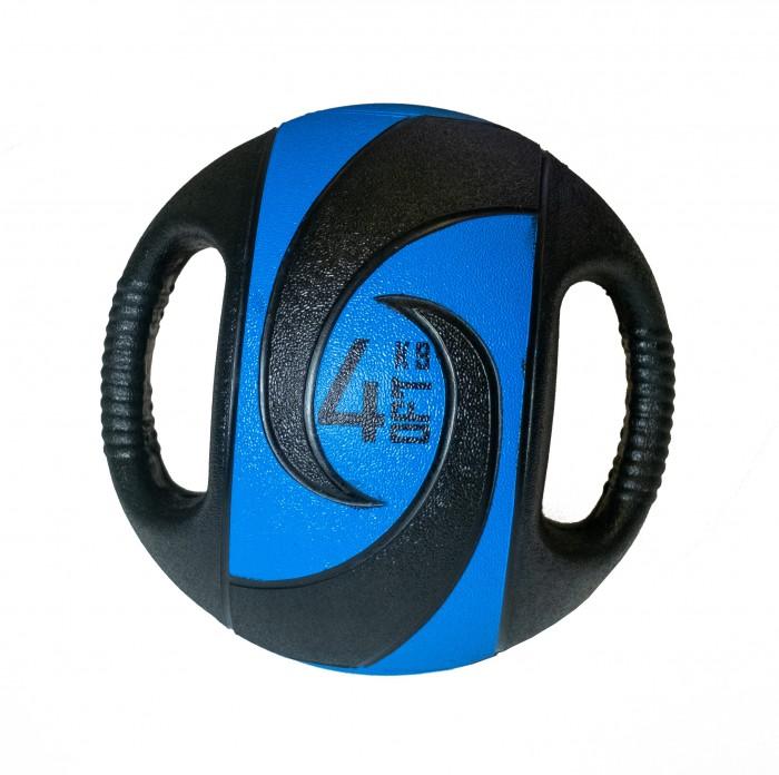 Мячи Original FitTools Мяч тренировочный с хватами 4 кг мяч original fittools для мфр одинарный