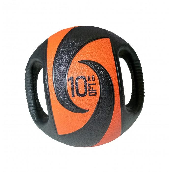 Мячи Original FitTools Мяч тренировочный с хватами 10 кг мяч original fittools для мфр одинарный