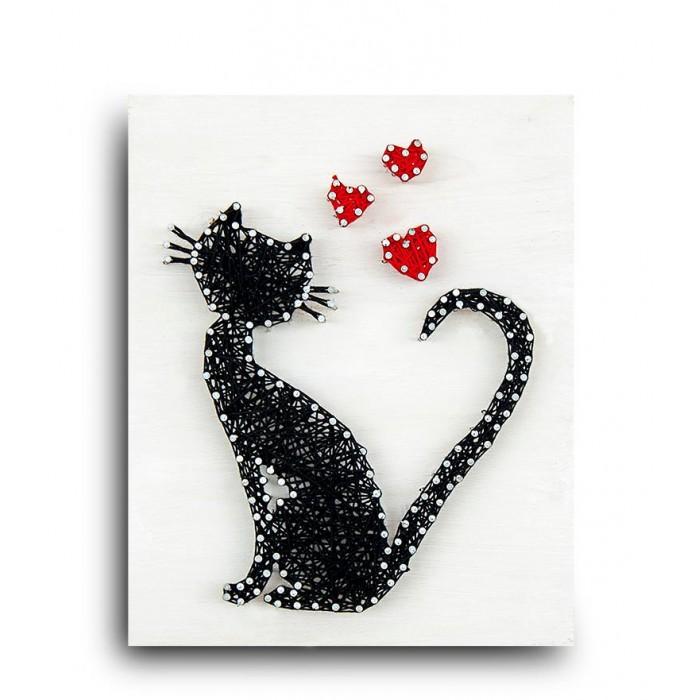 Купить Наборы для творчества, String Art Lab Набор для творчества Стринг арт Кошка