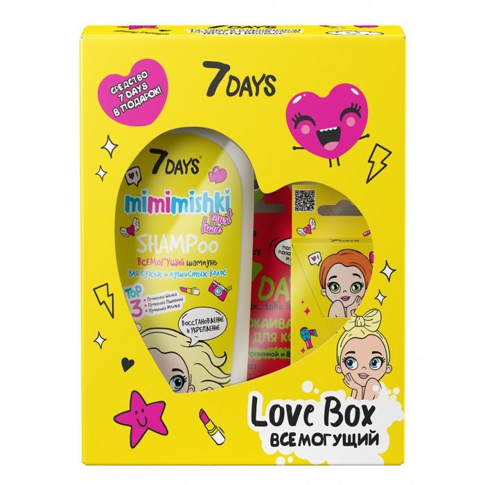 Фото - Косметика для мамы 7Days Подарочный набор средств по уходу за кожей лица и волосами love box всемогущий косметика для мамы 7days подарочный набор средств по уходу за кожей лица тела и волосами my beauty box 201