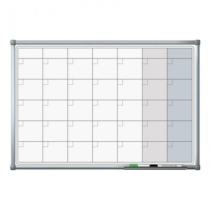Attache Доска магнитно-маркерная с линовкой Планер 60х90 см фото