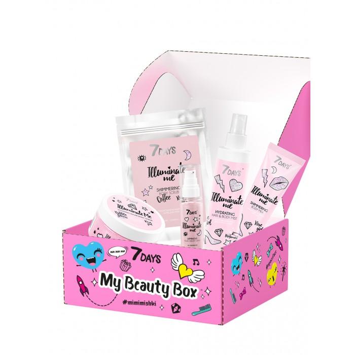 Фото - Косметика для мамы 7Days Подарочный набор My Beauty Box № 202 7 days увлажняющий мист для волос и тела rose girl 180 мл 7 days illuminate me