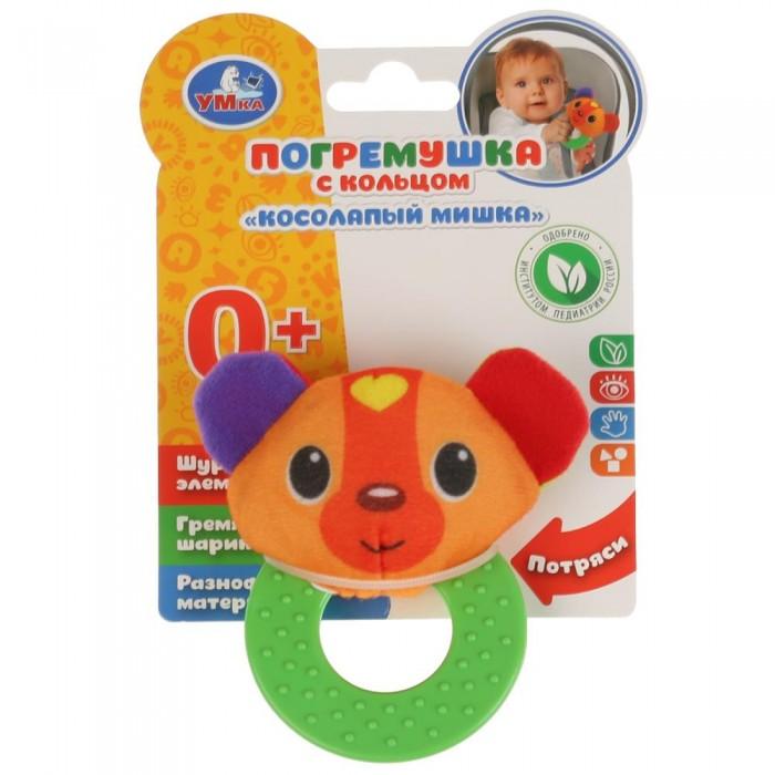 Погремушки Умка на прорезывателе Мишка прорезыватель тм умка мишка на шариках на карт русс уп в кор 3 24шт