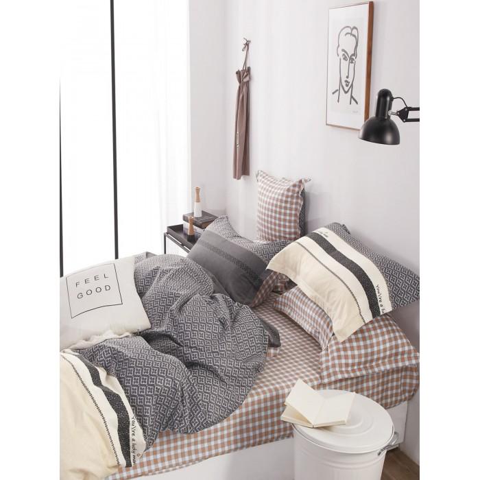 Купить Постельное белье 1.5-спальное, Постельное белье Dream Time Комплект BL-46-SP-143-1C (4 предмета)