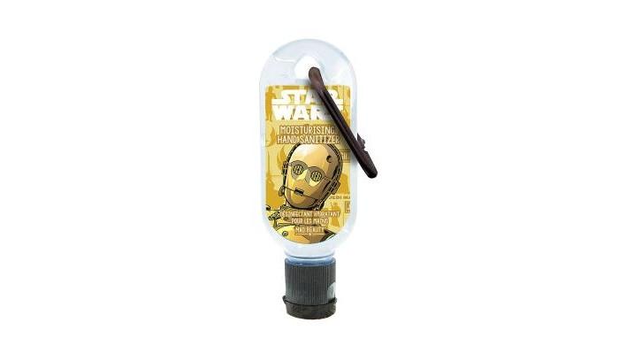 Аптечки MAD Beauty Star Wars Дезинфицирующее средство для рук с ароматом янтаря и женьшеня C3PO
