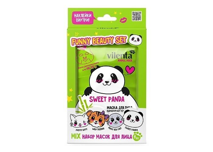 Косметика для мамы Vilenta Подарочный набор Funny Beauty Set Sweet Panda