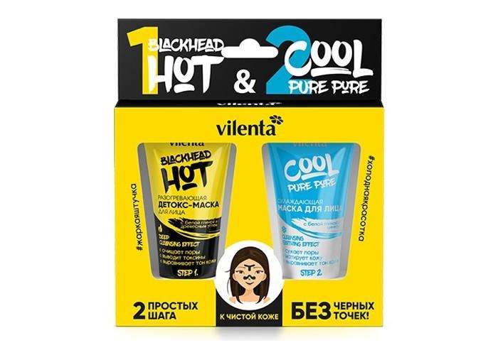 Косметика для мамы Vilenta Набор Hot Blackhead and Cool Pure Pore