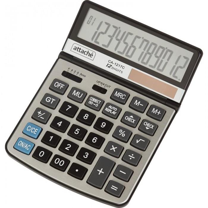 Купить Канцелярия, Attache Калькулятор полноразмерный CA-1217C