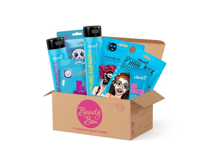 косметика для мамы vilenta подарочный набор beauty box forever 8 march Косметика для мамы Vilenta Подарочный набор Beauty Box Azuremania