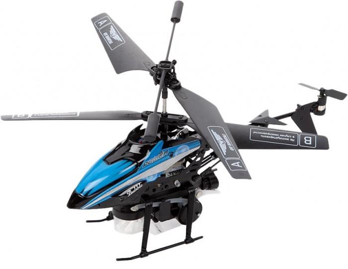 От винта! Вертолет на ИК Fly-0238 с мыльными пузырями