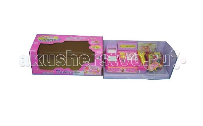 Ролевые игры Shantou Gepai Касса с набором продуктов и сканером игровой набор shantou gepai супермаркет касса тележка набор продуктов 6809