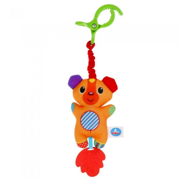 Подвесная игрушка Умка с клипсой Мишка фото