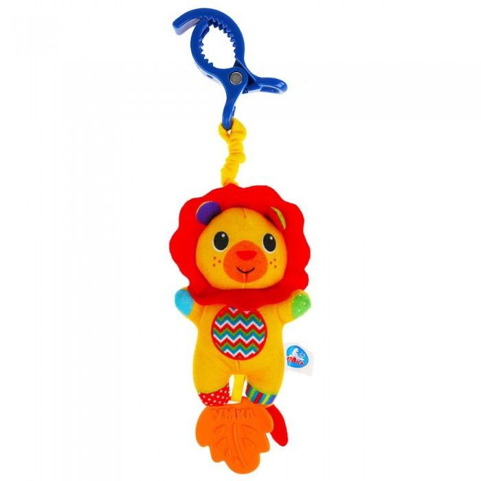 Подвесная игрушка Умка с клипсой Лев фото