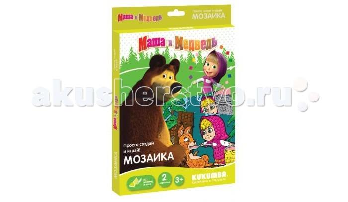 Мозаика Kukumba Мозаика Маша и медведь мозаика kukumba божья коровка и пчелка