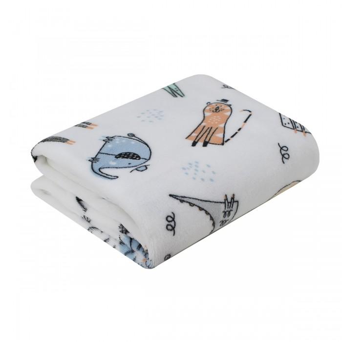 Пледы Baby Nice (ОТК) покрывало Micro Flannel Сафари 100х118 см
