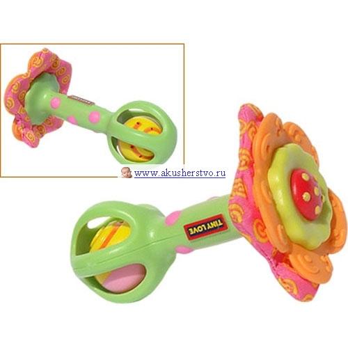 4c5ffa59ba640 Погремушка Tiny Love Развивающая игрушка Цветочек - Акушерство.Ru