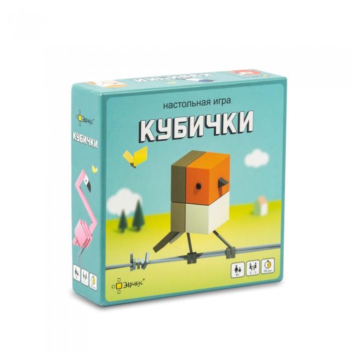 Фото - Настольные игры Эврикус Игра настольная Кубички настольная игра радуга забавные